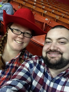 At the Houston Rodeo